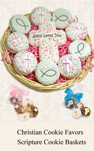Christian Cookie Favors & Baskets