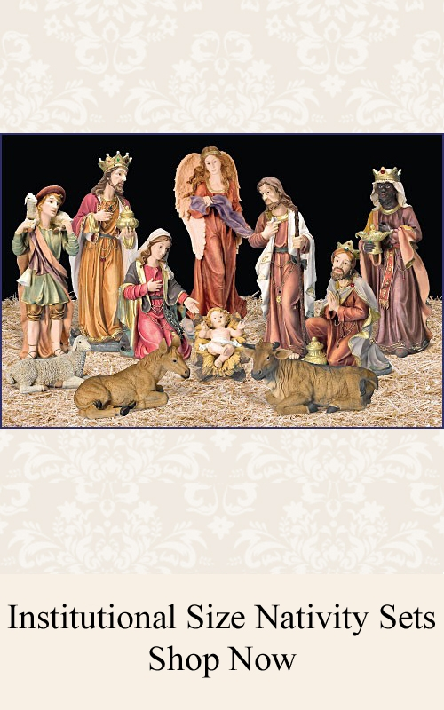 Nativity Sets-Church Size