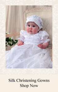 Silk Christening Gowns