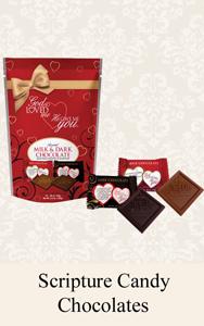 Bible Verse Chocolates