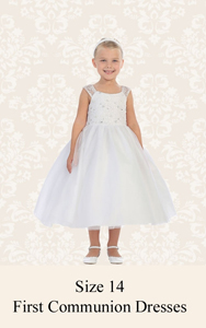 First Communion Dresses Size 14