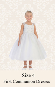 First Communion Dresses Size 4