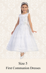First Communion Dresses Size 5