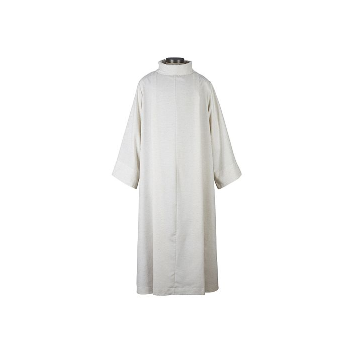 Flax Cowl Neck Monastic Alb