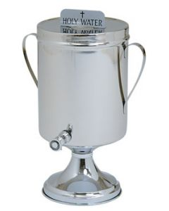 Holy Water Baptismal Urn with Handles