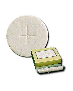"Communion Altar Bread-1-1/8"" White Hosts Box of 1000"