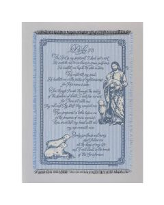 23RD PSALM Afghan-Throw
