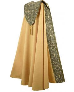 Gold and Green Tapestry Clergy Cope