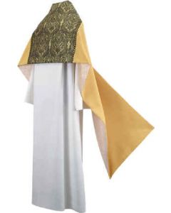 Gold and Green Tapestry Clergy Humeral Veil