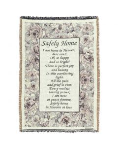 Safely Home Christian Afghan-Throw
