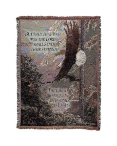 Eagles Wings Christian Afghan-Throw
