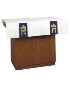 Marian Royale and Crown Church Altar Frontal