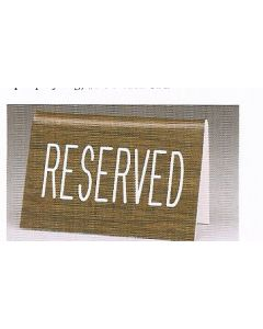 Reserved Sign Tabletop