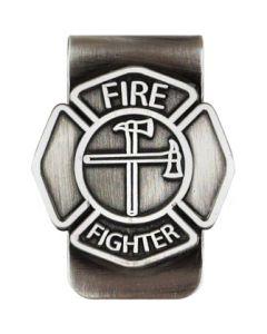 MONEY CLIP-FIREFIGHTER