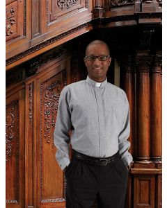 Mens Long Sleeve Comfort Clergy Shirt