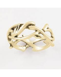 14k Gold Ladies' Christian Ring Crown of Thorns