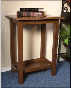 Church Credence Table Maple Wood
