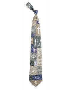 Faith, Hope, Love Men's Christian Tie
