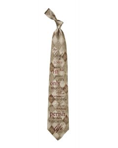 John 3:16 Men's Christian Tie