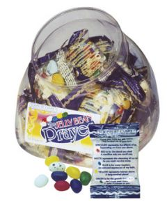 Jelly Bean Prayer Scripture Candy Jar