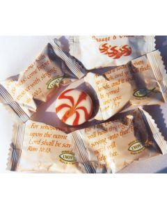 Scripture Candy Orange & Cream Candies Bulk