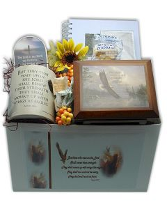 On Eagles Wings Scripture Gift Box