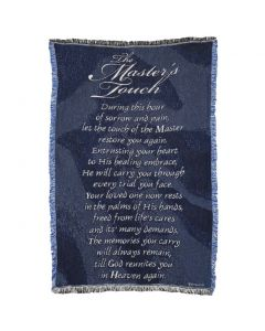 Master's Touch Christian  Afghan-Throw