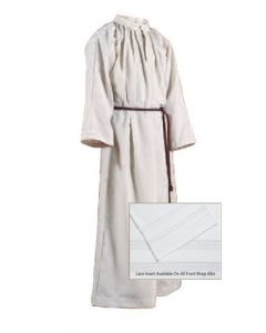 Monastic Altar Server Alb Natural Flax
