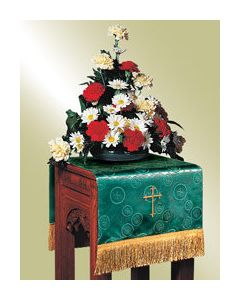 Flower Stand Cover - Emerald