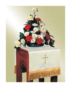 Flower Stand Cover - Ivory