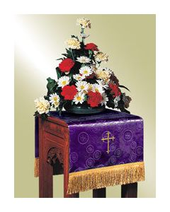 Flower Stand Cover -Purple