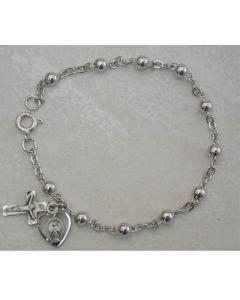 Beaded Rosary Bracelet