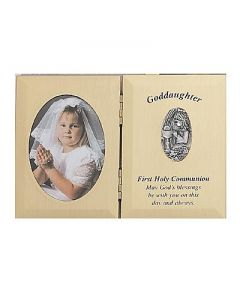 Goddaughter First Communion Photo Plaque