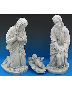 Outdoor Holy Family Nativity Set-Holy Family Granite