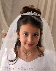 Pearl First Communion Tiara