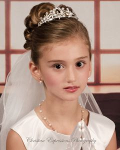 Mariah First Communion Veil