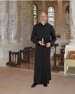Roman Style Cathedral Clergy Cassock