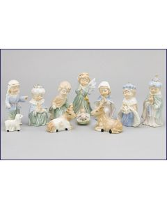 Child's Porcelain Nativity Set
