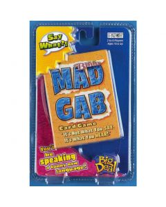 MAD GAB CARD Bible GAME