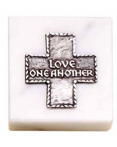 Love One Another Paperweight