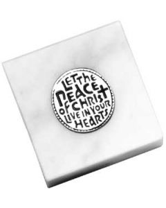 Peace of Christ Paperweight