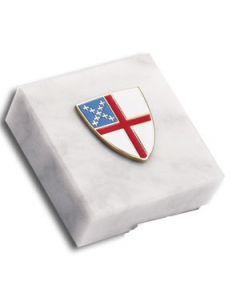 Episcopal Shield Paperweight