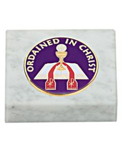Ordained in Christ Paperweight