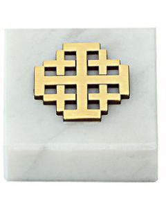 Jerusalem Cross Paperweight