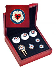 Luther Rose Golf Gift Set