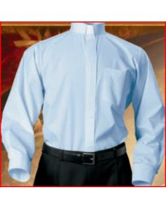 Clerical Shirt - Long Sleeve (Four Colors Available)