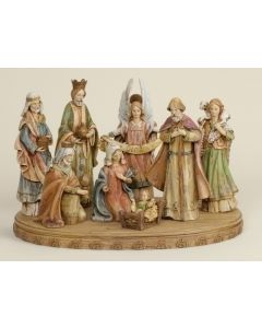 Nativity Set on Base