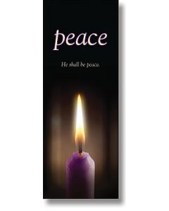 Advent, Peace X-Stand Banner