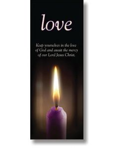 Advent, Love X-Stand Banner