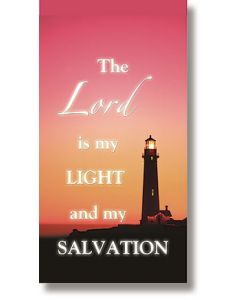 The Lord is My Light Church Banner